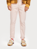 Scotch & Soda Faded Pink Regular Fit Chino