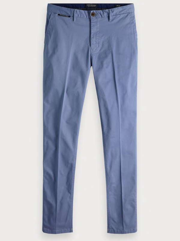 Scotch & Soda Azul Blue Regular Fit Chino