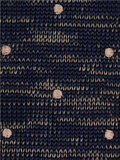 Gibson London Navy Dot Knitted Tie