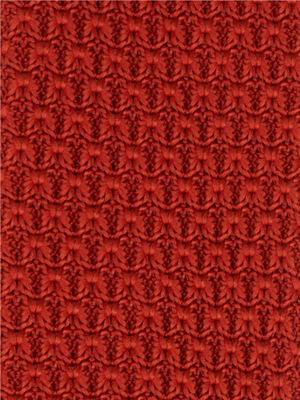 Gibson Orange Knitted Tie