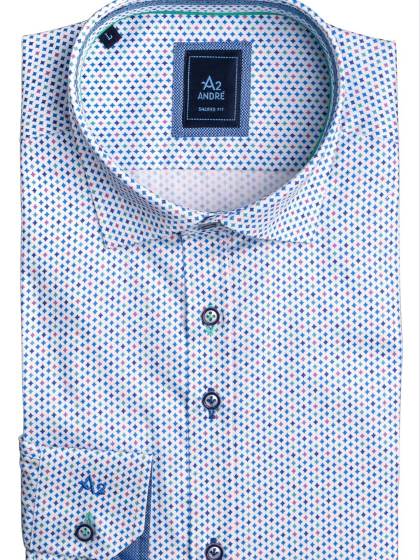 A2 by Andre Venice Print Shirt