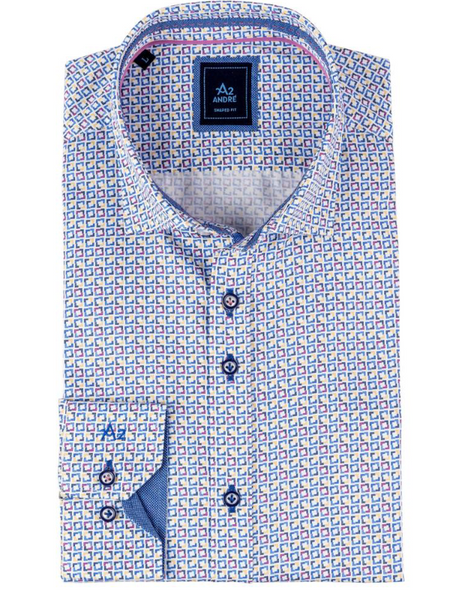 A2 by Andre Corfu Print Shirt