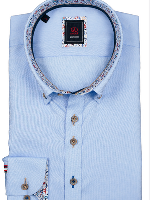 Andre Jeanswear Blue Short Sleeve Shirt