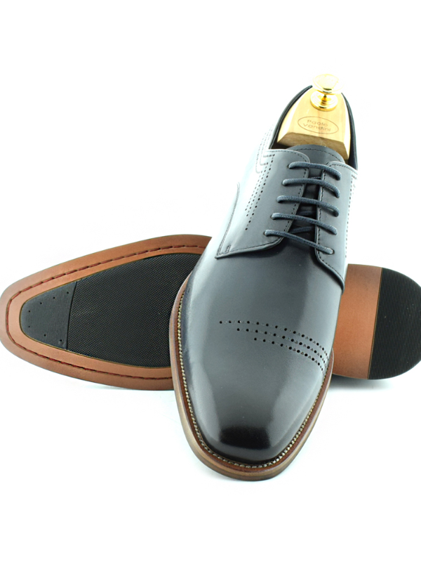 Paolo Vandini Faris Navy Shoes