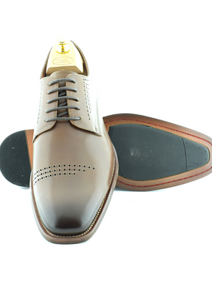 Paolo Vandini Faris Cognac Shoes