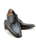 Paolo Vandini Black Leather Shoe