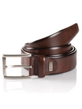 Monti London Brown Leather Belt