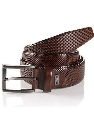 Monti Dublin Brown Leather Belt