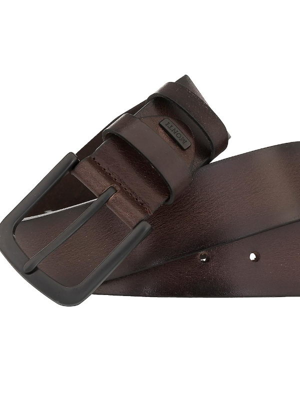 Monti Dallas Dark Brown Leather Belt