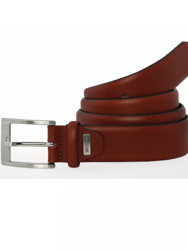Monti Breda Cognac Leather Belt