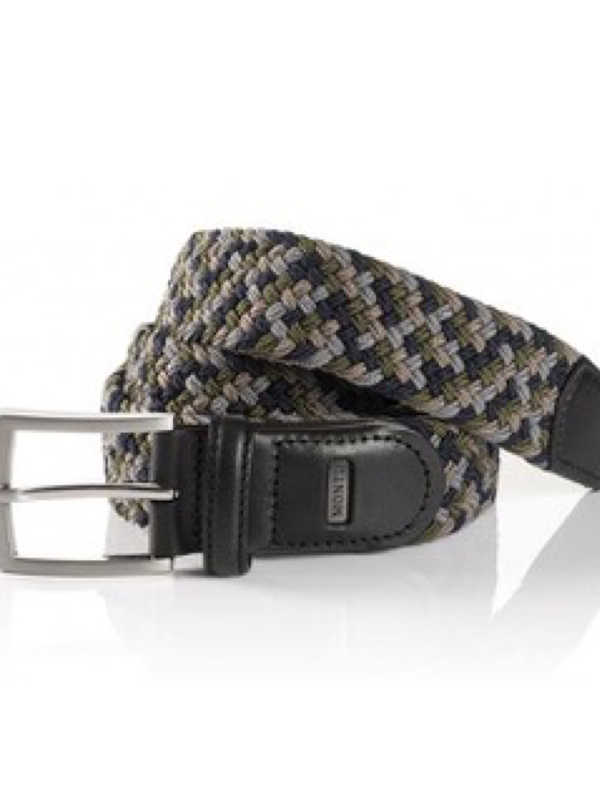 Monti Palma Woven Elasticated Belt