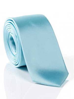 Monti Light Aqua Silk Tie