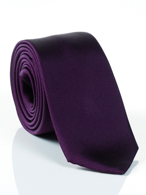Monti Purple Silk Tie