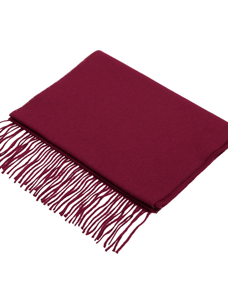 2BLIND2C Red Cashmere Scarf
