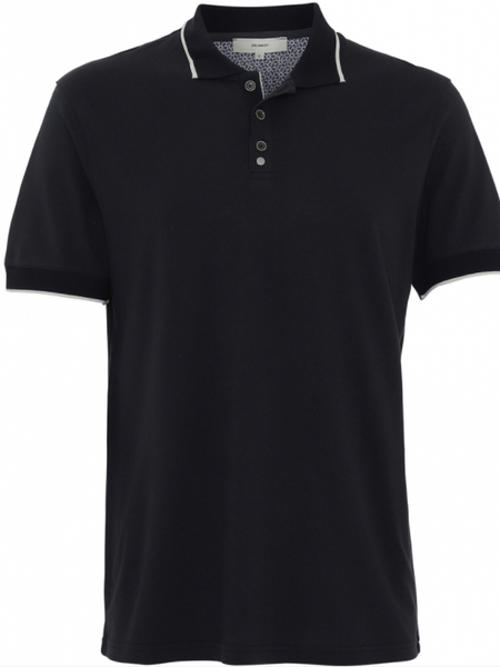 2BLIND2C Classic Navy Pique Polo