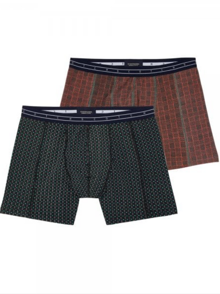 Scotch & Soda 2 Pack Boxer Shorts