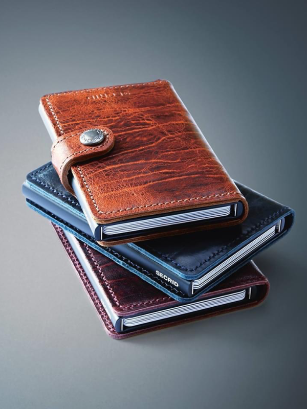 Secrid Whiskey Dutch Martin Mini Wallet