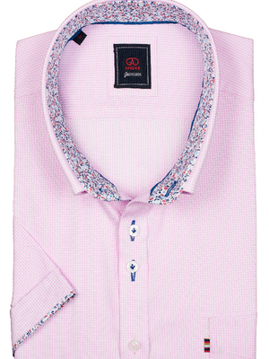 Andre Sexton Pink Short Sleeve Shirt