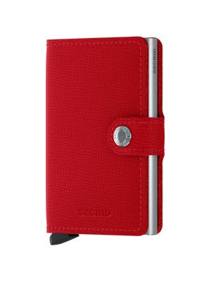 Secrid Crisple Red Mini Wallet