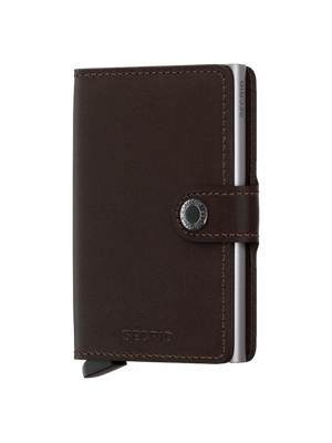 Secrid Original Dark Brown Mini Wallet
