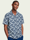 Scotch & Soda Printed Denim Shirt