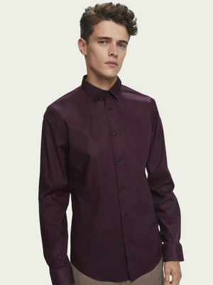 Scotch & Soda Bordeaux Shirt