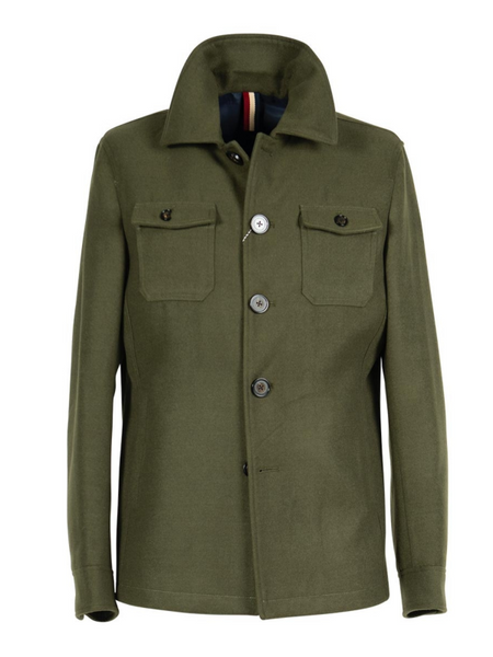 2BLIND2C Green Casual Jacket