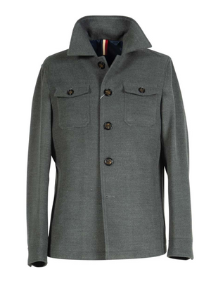 2BLIND2C Grey Casual Jacket