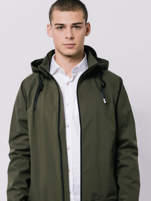TANTÄ Khaki Waterproof Jacket