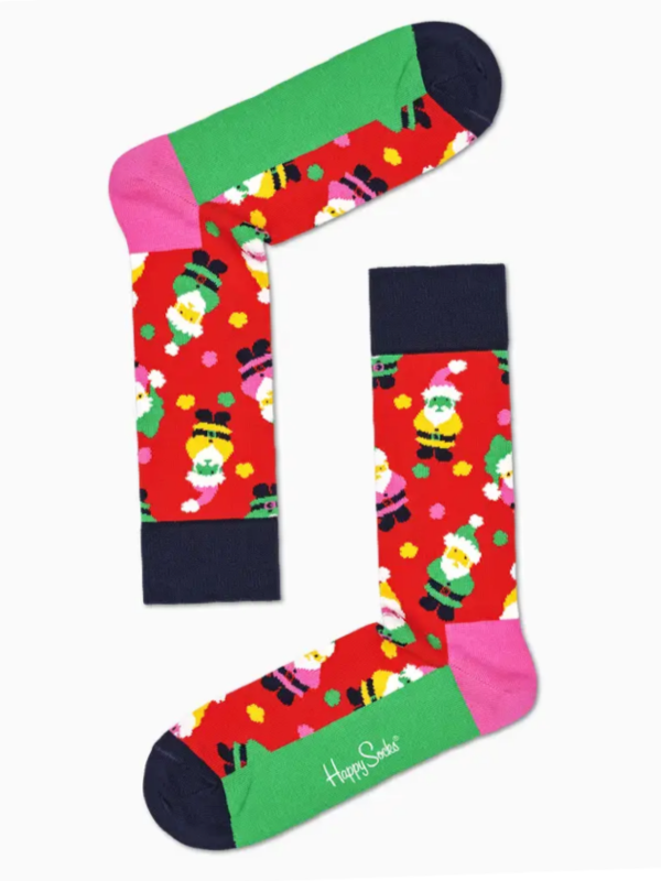 Happy Socks Santa Christmas Cracker