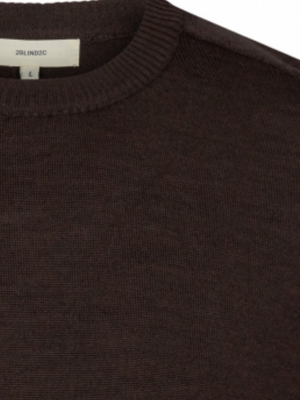 2BLIND2C Dark Brown Crewneck