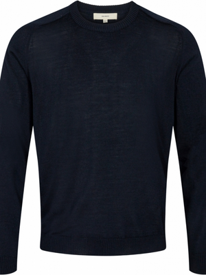 2BLIND2C Dark Navy Crewneck