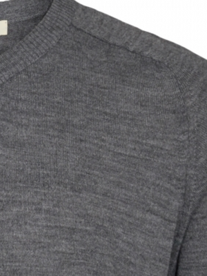 2BLIND2C Mid Grey Crewneck