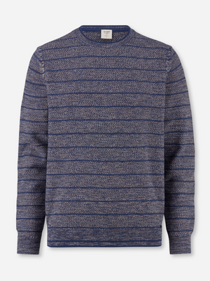 Olymp Blue Multi Crewneck
