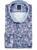 Andre Reilly Blue Print Shirt