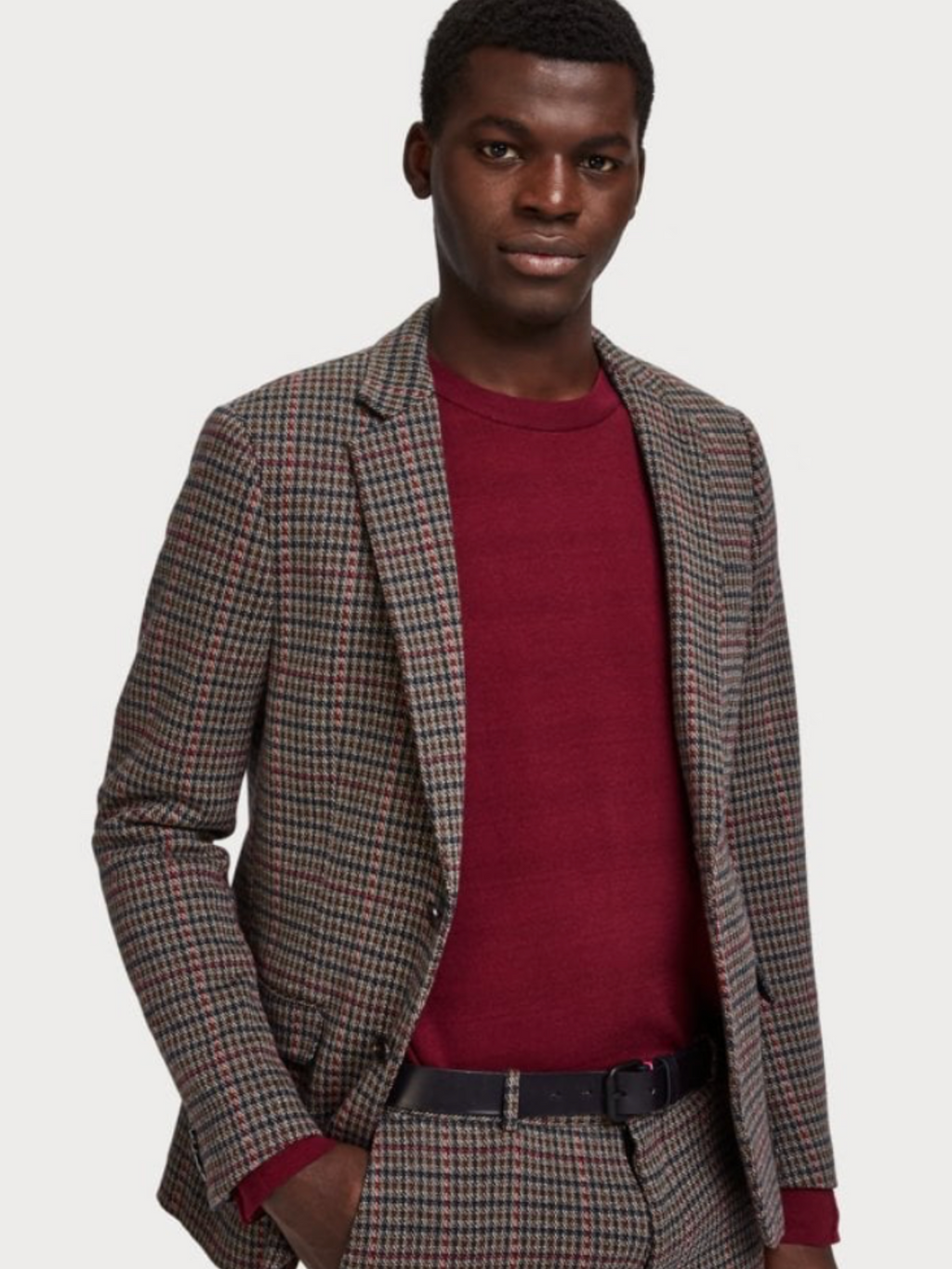 Scotch & Soda Houndstooth Blazer