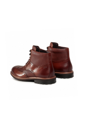 Digel Brown Lace up Boots