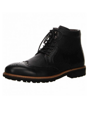 Digel Black Lace up Boots