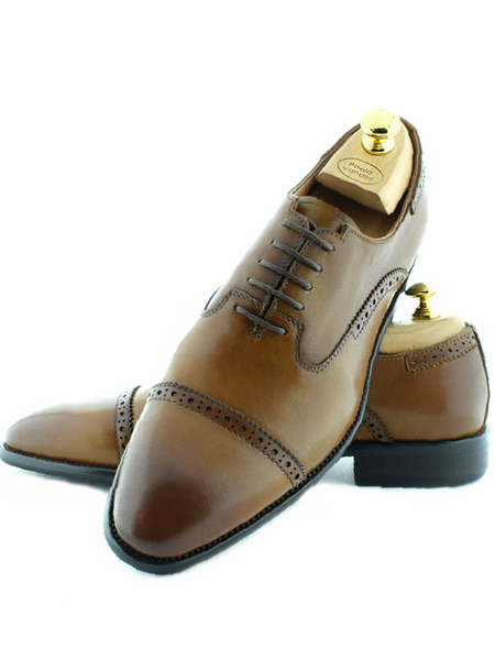 Paolo Vandini Ford Brown Shoes