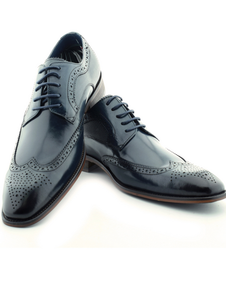 Paolo Vandini Gerard Navy Shoes