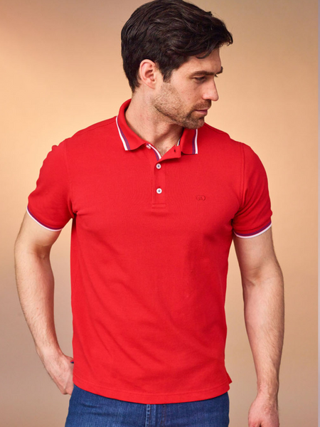 Andre Red Polo