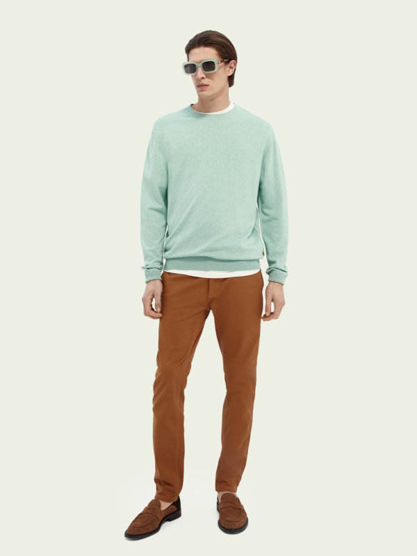 Scotch & Soda Seafoam Melange Crewneck