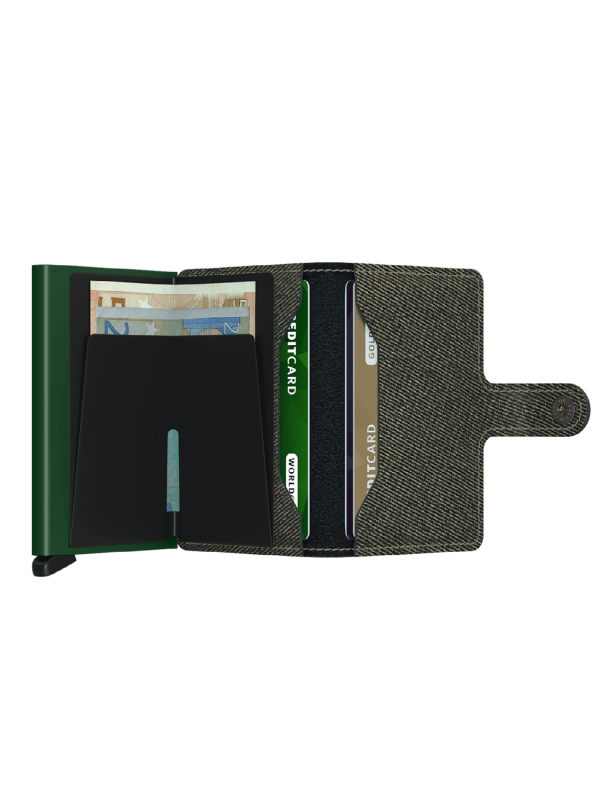 SECRID Twist Green Mini Wallet