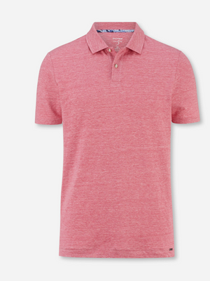 Olymp Pink Body Fit Polo