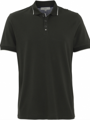 2BLIND2C Classic Green Pique Polo