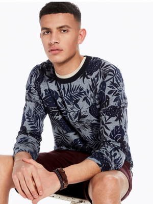 Scotch & Soda Print Crew Neck