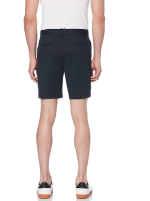 Original Penguin Navy Cotton Twill Short