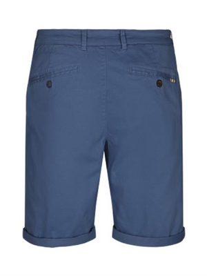 Tailored & Originals Cobalt Chino Shorts