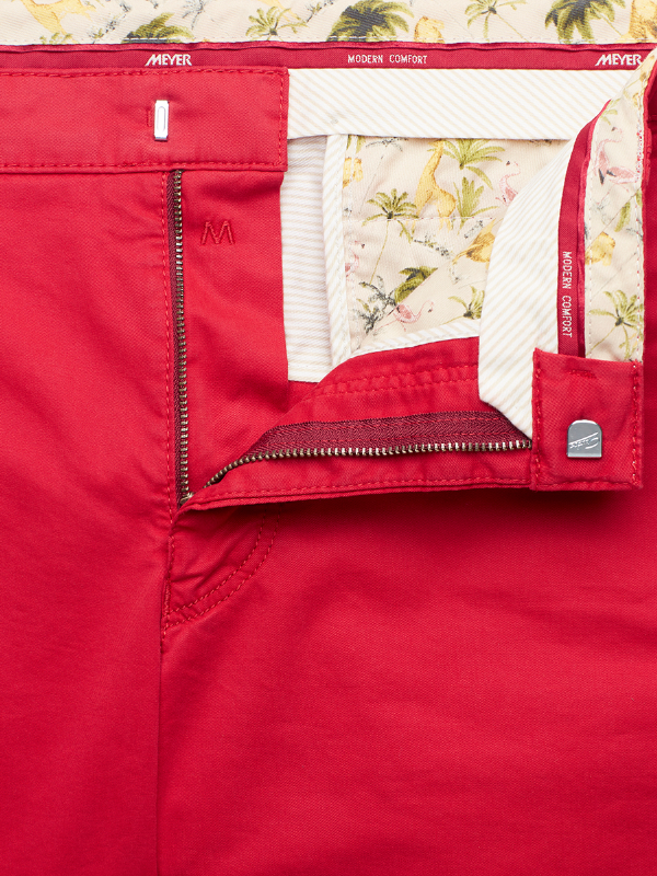 Meyer Red Palma Shorts
