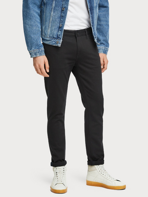 Scotch & Soda Stay Black Skim Jeans